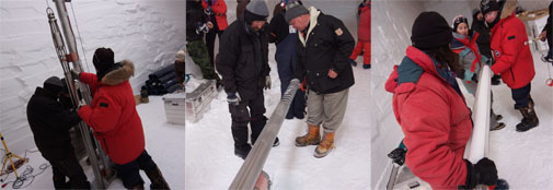 Drilling the first NEEM ice core